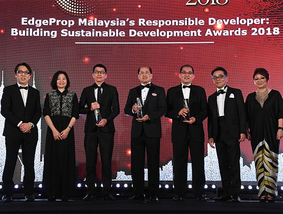Developers committed to sustainability celebrated at EdgeProp.my awards