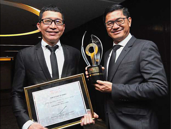 Glitzy property awards land in Johor