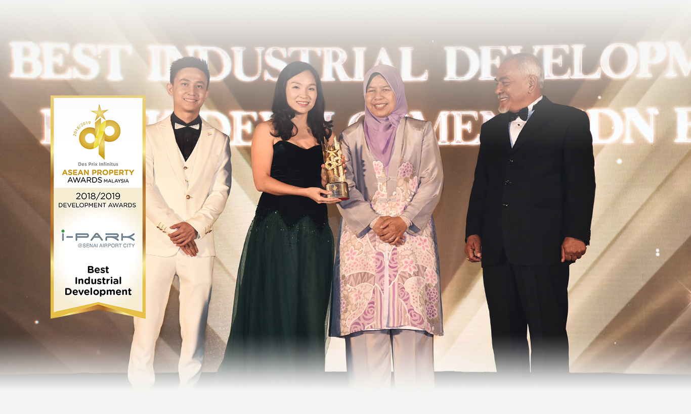 ASEAN PROPERTY AWARDS MALAYSIA - BEST INDUSTRIAL DEVELOPMENT