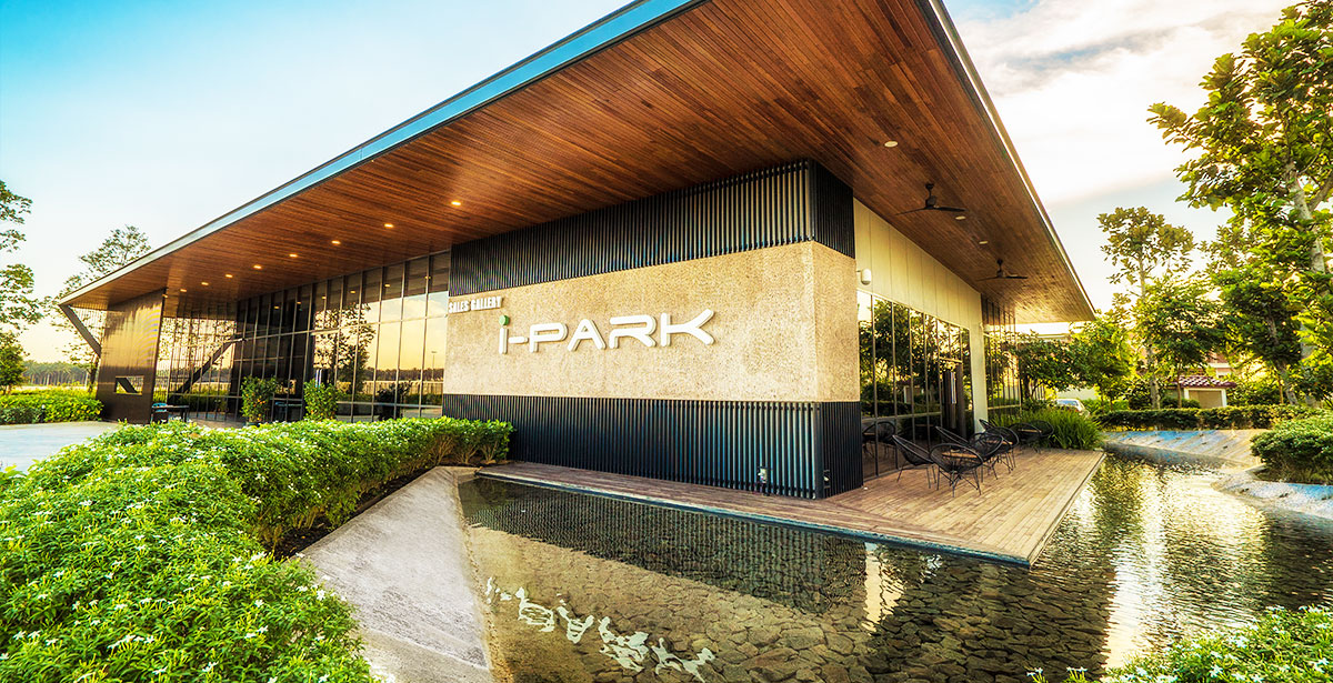 i-Park @ Senai Airport City  Water Feature And Relax Corner