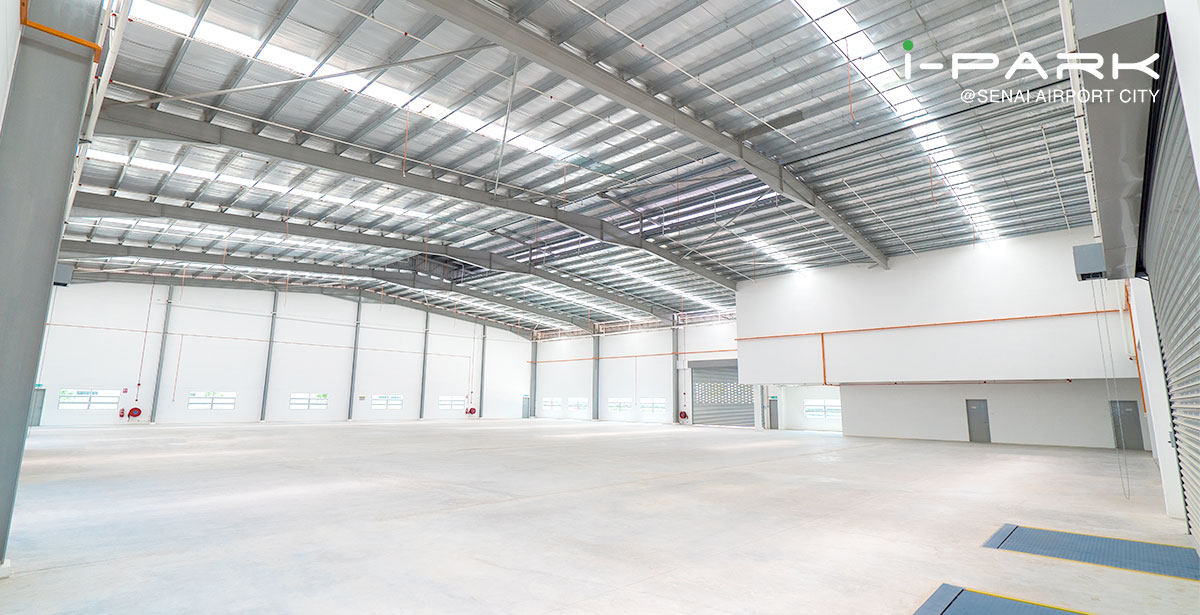 1 ½ Storey Detached Factory (approx. 1 acre)