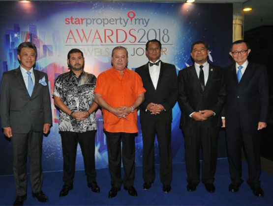 Johor Sultan graces StarProperty.my Awards