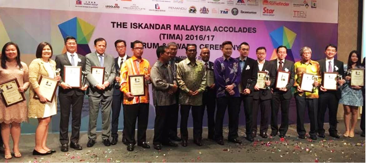 IRDA Recognizes 23 Most-Valued Contributions to the Quality of Life in Iskandar Malaysia