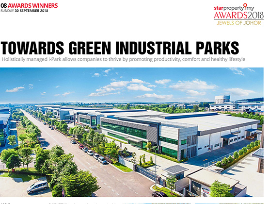 Towards Green Industrial Parks