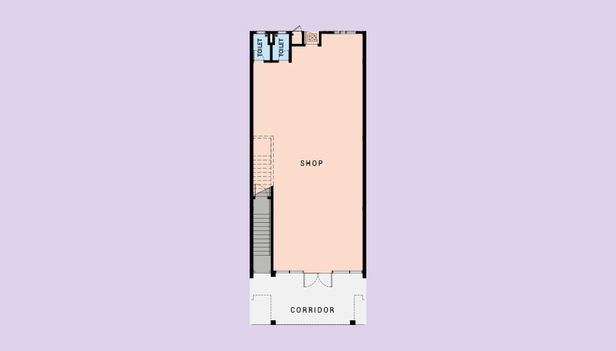 2 STOREY COMMERCIAL SHOP (INTERMEDIATE)